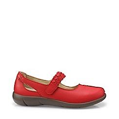 Hotter - Dark orange 'Shake' mary jane shoes