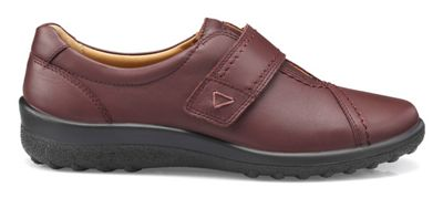 Hotter - Maroon 'Shadow' wide fit pumps