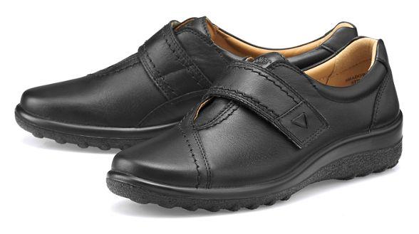 pumps 'Shadow' wide Hotter Black fit TnzAA4xq