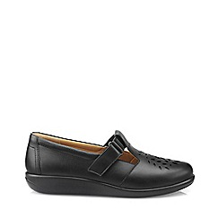 Hotter - Black 'Sunset' t-bar shoes