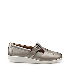 Hotter - Metallic 'Sunset' t-bar shoes