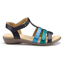 Sophia �?Sandalen - Dark Tan - Standard Fit - 43