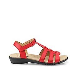 Hotter - Dark orange 'Sol' gladiator sandals
