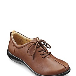 Hotter - Tan 'Soothe' Wide Fit Lace-Up Shoes