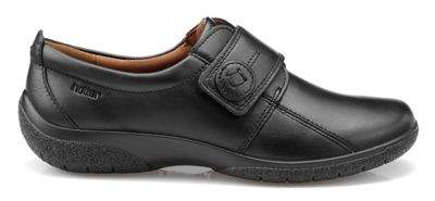 Hotter - Black 'Sugar' wide fit touch touch touch close shoes bda3c2