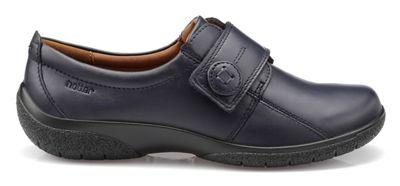 Hotter close - Navy 'Sugar' touch close Hotter shoes b064da