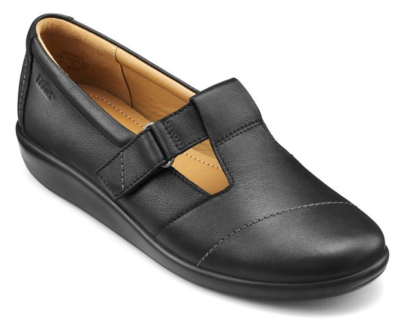 shoes 'Sunset' Hotter bar T Black v5yaqIZ