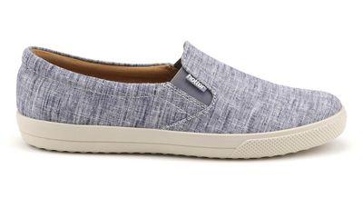 Hotter - Blue 'Tara' slip-on shoes
