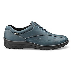 Hotter - Blue 'Tone GTX' lace-up shoes