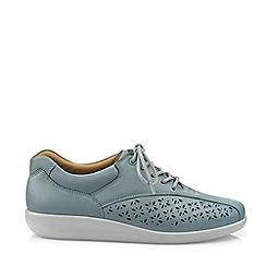 Hotter - Aqua 'Tone' Lace-Up Shoes