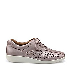 Hotter - Lilac 'Tone' Lace-Up Shoes