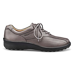 Hotter - Dark grey 'Tone' lace-up shoes