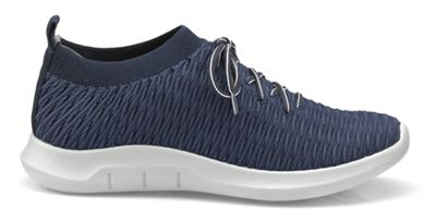 Hotter - Navy 'Twist' lace-up trainers