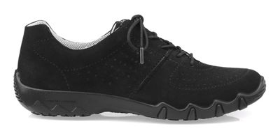 Hotter - Black 'Vault' lace-up trainers