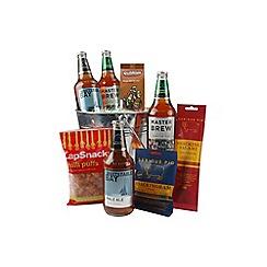 Hampers of Distinction - Bucket of beer and snacks