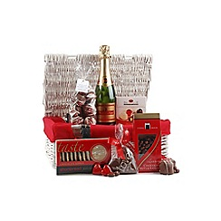 Hampers of Distinction - Sparkling Gift Basket With Love Hamper