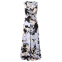 Grace - Blue floral maxi dress