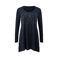 Grace - Navy tunic with studs
