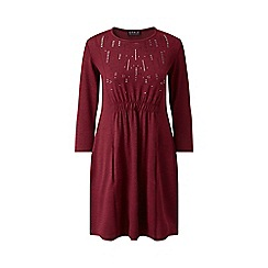 Grace - Berry tunic dress with studs