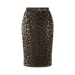 Grace - Leopard print midi skirt