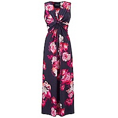 Grace - Pink floral maxi dress