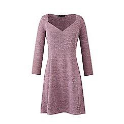 Grace - Pink sweetheart neck swing dress