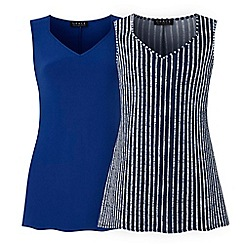 Grace - Blue 2 pack tunics