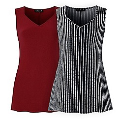Grace - Berry 2 pack tunics
