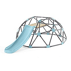 Plum - Blue large climbing dome with slide