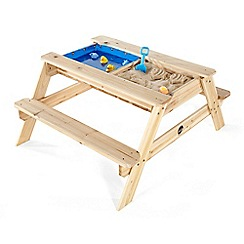 Plum - Wooden surfside sand and water table