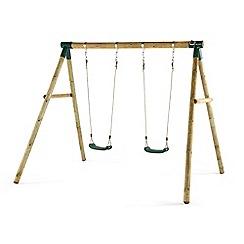 Plum - Marmoset wooden swing set