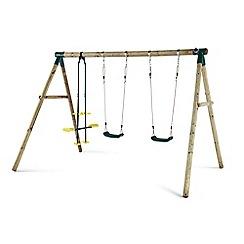 Plum - Colobus wooden swing set