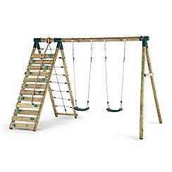 Plum - Uakari wooden swing set