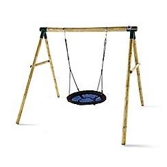 Plum - Spider monkey II wooden swing set