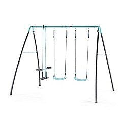 Plum - Premium metal double swing and glider with mist