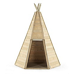Plum - Great wooden teepee hideaway