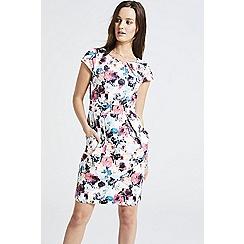 ANGELEYE - Multicolour floral print shift dress