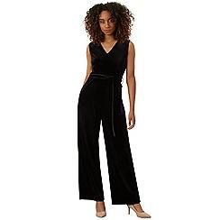 James Lakeland - Black velvet jumpsuit