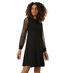James Lakeland - Black net pearl dress