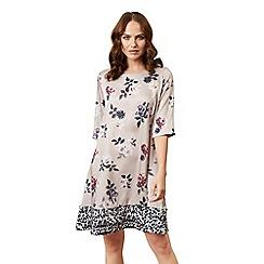 James Lakeland - Pink floral leopard dress