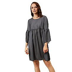 James Lakeland - Grey mini boho dress