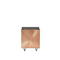 Swoon - Copper 'Ziggy' bedside table