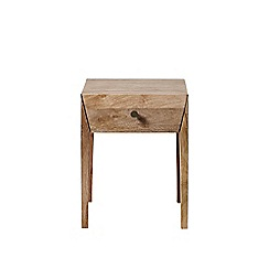 Swoon - Light mango wood 'Elsa' bedside table