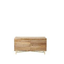 Swoon - Mango wood 'Halle' small media unit