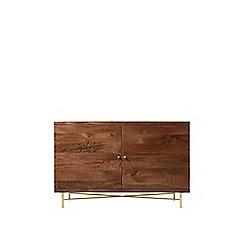 Swoon - Dark mango wood 'Halle' sideboard