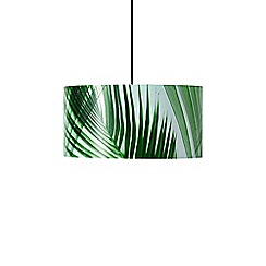 Swoon - Green 'Aura' large pendant
