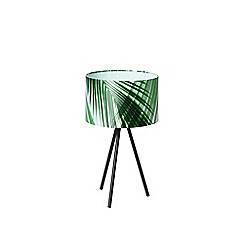 Swoon - Green 'Aura' table lamp
