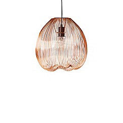 Swoon - Copper 'Obi' large pendant