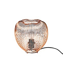 Swoon - Copper 'Obi' table lamp