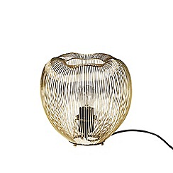 Swoon - Brass 'Obi' table lamp